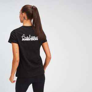 MP Women's Fuel Your Ambition Print T-shirt - Black