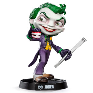 Iron Studios DC Comics The Joker Mini Co. PVC Figure 14cm