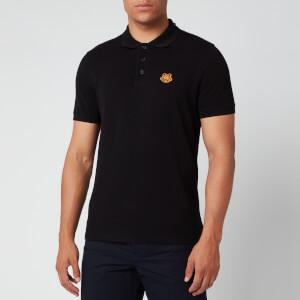 KENZO Men's Tiger Crest Pique Polo Shirt - Black