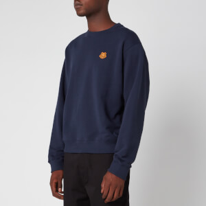 KENZO Men's Tiger Crest Sweatshirt - Navy Blue