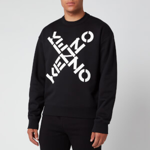 KENZO Men's Sport Big X Sweatshirt - Black