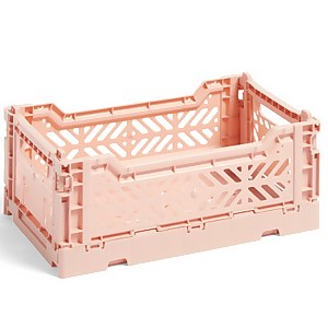 HAY Colour Crate - Soft Pink - S