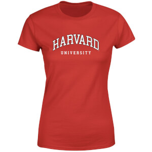 Harvard Red Tee Women's T-Shirt - Red