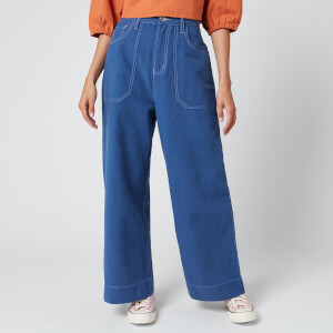L.F Markey Women's Carpenter Trousers - Cobalt