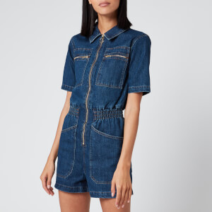 L.F Markey Women's Danny Playsuit - Indigo