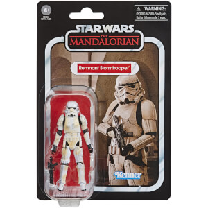 Figurine Articulée 9.5 cm Remnant Stormtrooper - The Mandalorian - Hasbro Star Wars The Vintage Collection