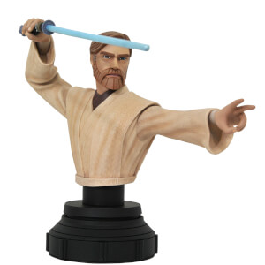 Diamond Select Star Wars Clone Wars Obi Wan 1/7 Scale Bust