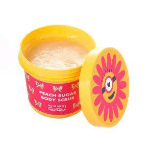 TONYMOLY x Minions Peach Sugar Body Scrub 2 oz