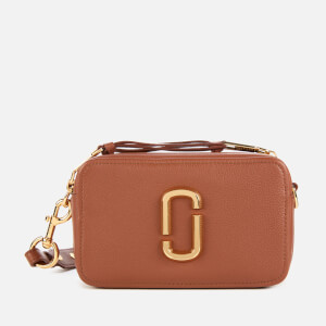 Marc Jacobs Women's The Softshot 21 Cross Body Bag - Milk Chocolate