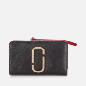 Marc Jacobs Women's Compact Wallet - Black/Chianti
