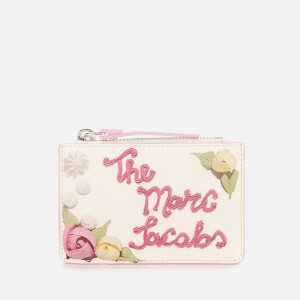 Marc Jacobs Women's Top Zip Multi Wallet - Cotton Multi