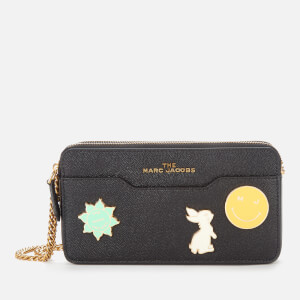 Marc Jacobs Women's Chain Continental - Black