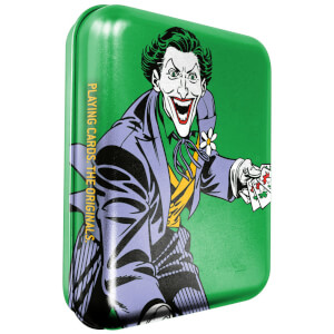 DC Joker Collector Playing Cards & Tin