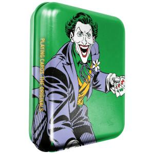 DC Joker Collector Playing Cards & Tin