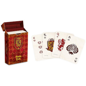 Harry Potter House Playing Cards - Gryffindor