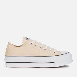 Converse Women's Chuck Taylor All Star Lift Ox Trainers - Farrow/White/Black