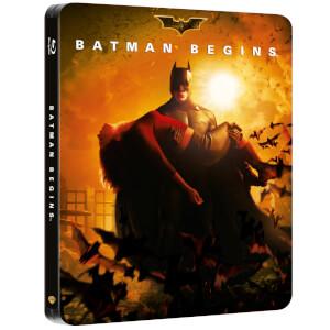 Batman Begins - Zavvi Exclusive 2 Disc Blu-ray Steelbook