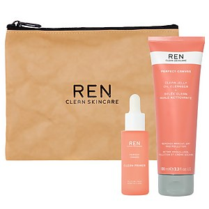 REN Clean Skincare Perfect Canvas Bundle (Worth £65.00)