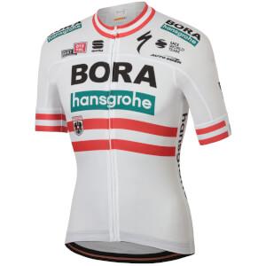 Sportful Bora Hansgrohe Austrian Champion BodyFit Team Jersey - White