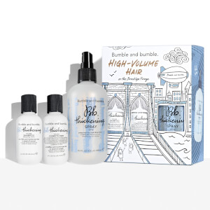 Bumble and bumble High-Volume Hair on the Brooklyn Fringe Kit