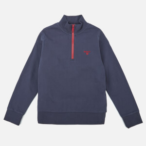 Barbour Heritage Boys' Half Zip Sweatshirt - Navy