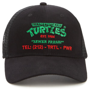 Teenage Mutant Ninja Turtles By The Slice Delivery Baseball Cap - Black