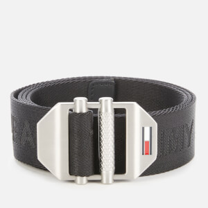Tommy Jeans Men's TJM Double Roller Buckle 3.5 - Black
