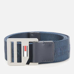 Tommy Jeans Men's TJM Webbing Belt 3.5 - Twilight Navy