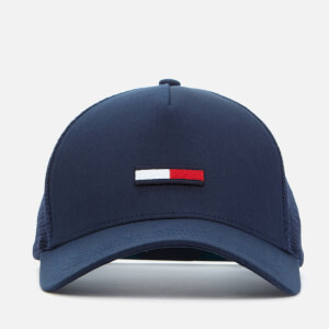 Tommy Jeans Men's TJM Trucker Flag Cap - Twilight Navy
