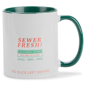 Teenage Mutant Ninja Turtles Sewer Fresh Mug - White/Green