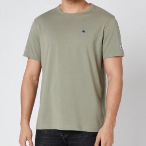 Champion Men's Small Logo Crewneck T-Shirt - Green