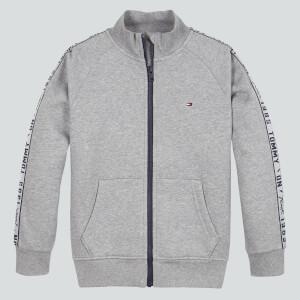 Tommy Hilfiger Boys' Tommy Tape Full Zip Jacket - Mid Grey Heather