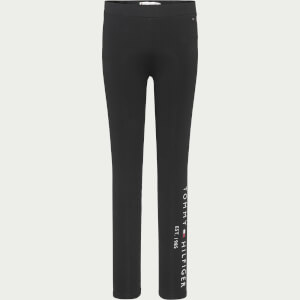 Tommy Hilfiger Girls' Essential Leggings - Black