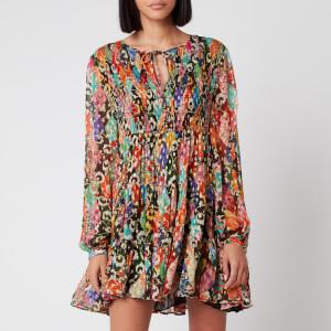 RIXO Women's Dianna Dress - Patchwork