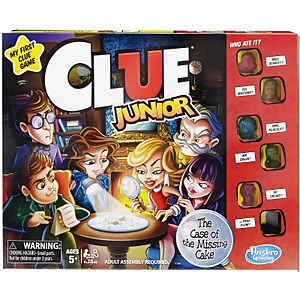 Cluedo Junior Mystery Board Game