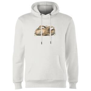 Snowtap Otters Hoodie - White
