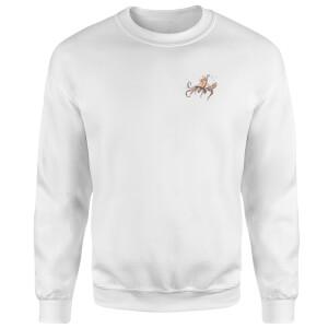 Snowtap Octopus Sweatshirt - White