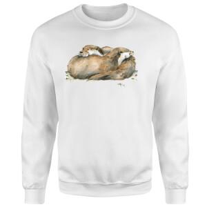 Snowtap Otters Sweatshirt - White