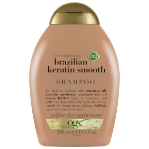 OGX Ever Straightening+ Brazilian Keratin Smooth Shampoo 385ml