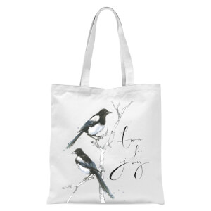 Snowtap Two For Joy Tote Bag - White