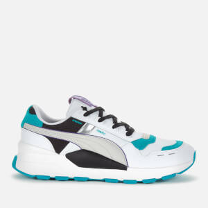 Puma Men's Rs 2.0 Futura Trainers - Puma White/Viridian Green
