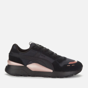 Puma Women's RS 2.0 Mono Metal Trainers - Puma Black/Rose Gold