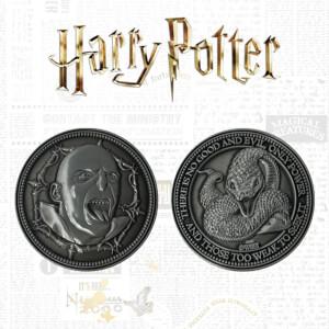 Pièce de collection Voldemort - Harry Potter Édition Limitée