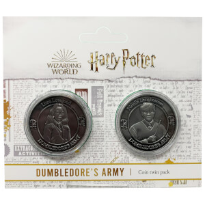 Harry Potter Dumbledore Army Collectible Coin Set : Neville and Luna