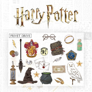 Harry Potter Wall Decal Set