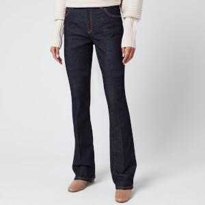 Victoria, Victoria Beckham Women's Miami Flare Jeans - Indigo Blue