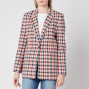 Victoria, Victoria Beckham Women's Patch Pocket Jacket - Cream/Sunset/Midnight