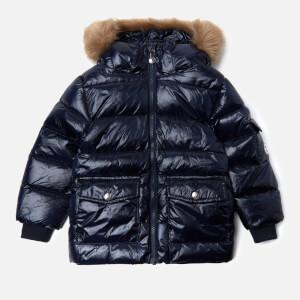 Pyrenex Boys' Authentic Shiny Synthetic Fur Jacket - Amiral
