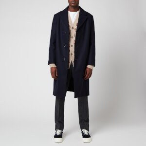 A.P.C. Men's Manteau Sacha Coat - Marine