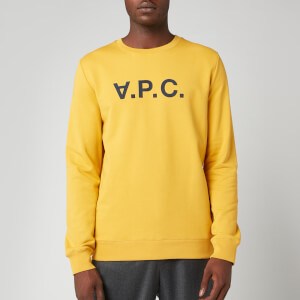 A.P.C. Men's VPC Sweatshirt - Yellow